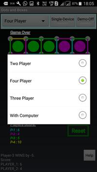 Mobile Dots and Boxes Game screenshot 5