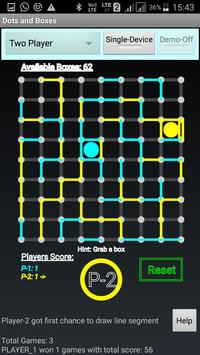 Mobile Dots and Boxes Game screenshot 6