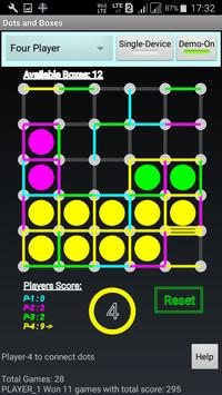 Mobile Dots and Boxes Game poster