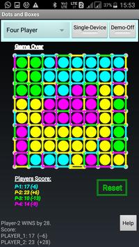 Mobile Dots and Boxes Game apk screenshot