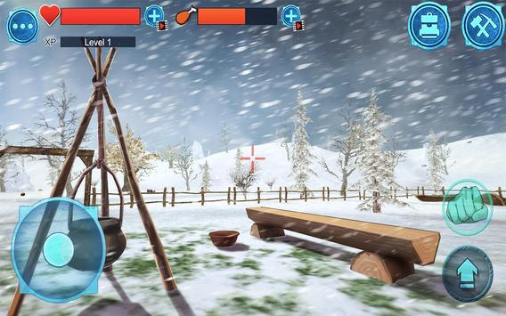 Island Survival 3D WINTER apk screenshot