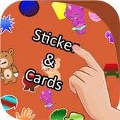 Stickers & Cards for WhatsApp icon