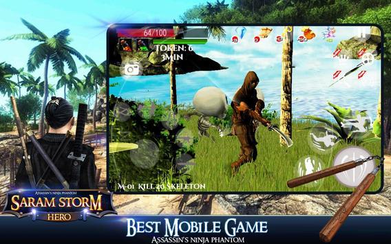 Saram Storm Hero apk screenshot