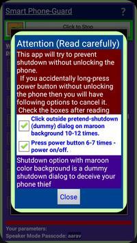 Smart Phone-Guard screenshot 1