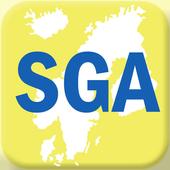 SGA Members App icon
