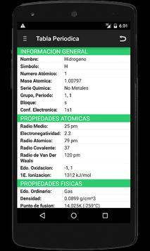 Tabla periodica y nomenclatura apk download free education app tabla periodica y nomenclatura apk screenshot urtaz Gallery