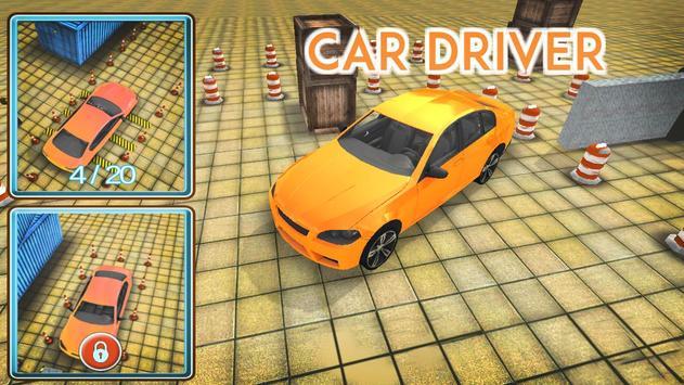 Car Driver Parking poster