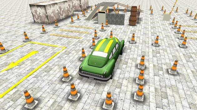 Classic 3D Car Parking screenshot 3