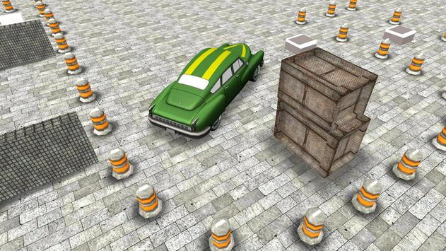 Classic 3D Car Parking screenshot 1