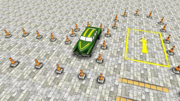 Classic 3D Car Parking screenshot 2