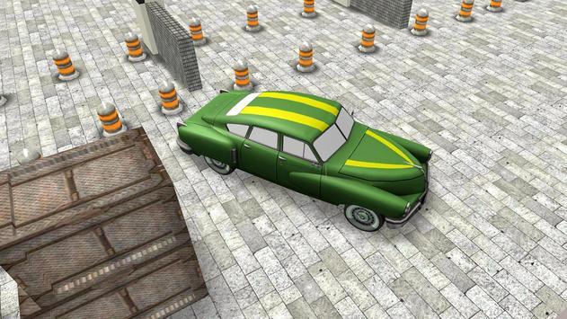Classic 3D Car Parking screenshot 5