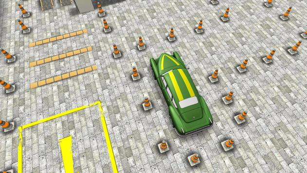 Classic 3D Car Parking screenshot 9