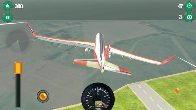 Airplane Flight Simulator 3D screenshot 13