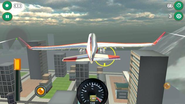 Airplane Flight Simulator 3D screenshot 2