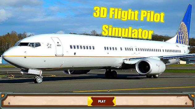 3D Flight Pilot Simulator poster