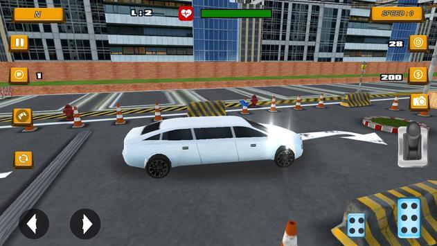 Limousine Parking 2017 screenshot 12