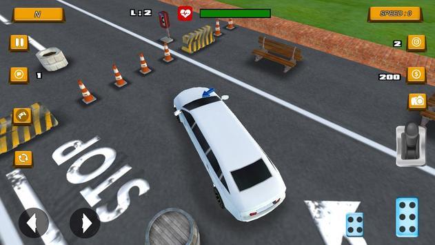Limousine Parking 2017 screenshot 3