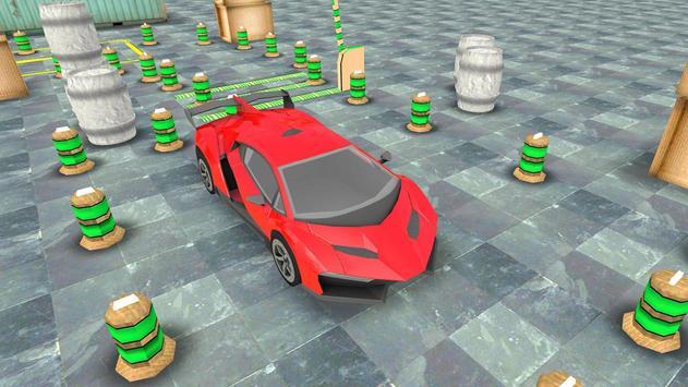 Sport Car 3D Parking poster