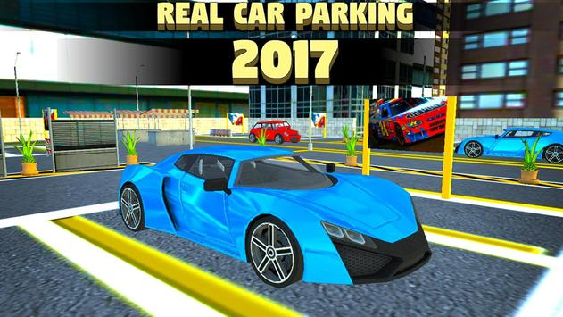 Real Car Parking 2017 poster