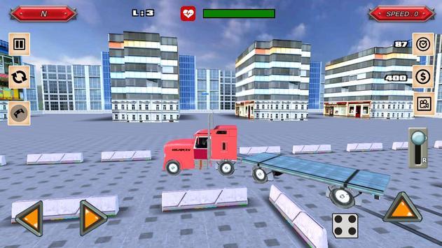 Truck Trailer Drive apk screenshot