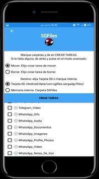 SGFiles screenshot 2