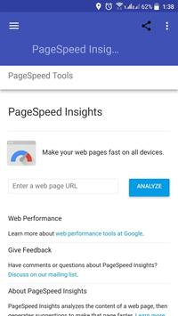 SEO PageSpeed - Think with Google apk screenshot