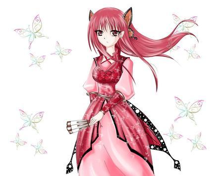 Anime Girl Wallpapers poster
