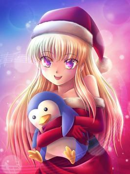 Cool Anime Girl Wallpaper apk screenshot