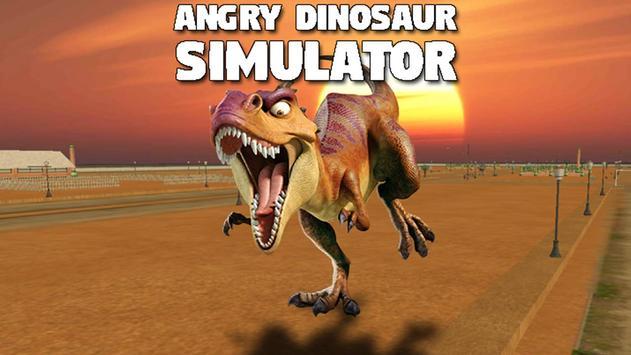 Angry Dinosaur Simulator poster