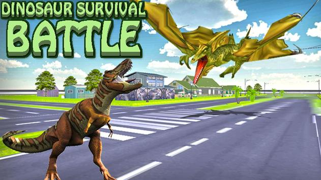 Dinosaur Survival Battle poster
