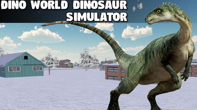 Dino World Dinosaur Simulator poster