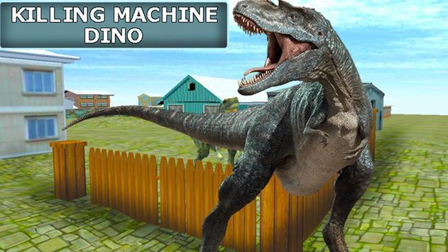 Killing Machine Dino poster