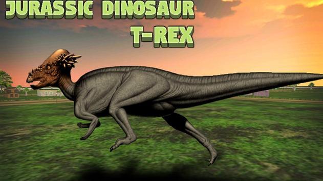 Jurassic Dinosaur T- Rex poster