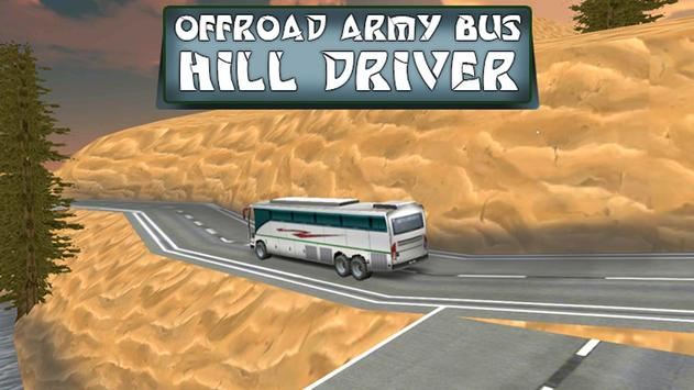 Offroad Army Bus Hill Driver apk screenshot