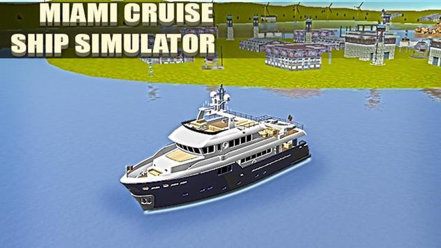 Miami Cruise Ship Simulator poster
