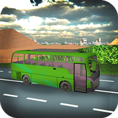 Real City Bullet Bus Simulator icon