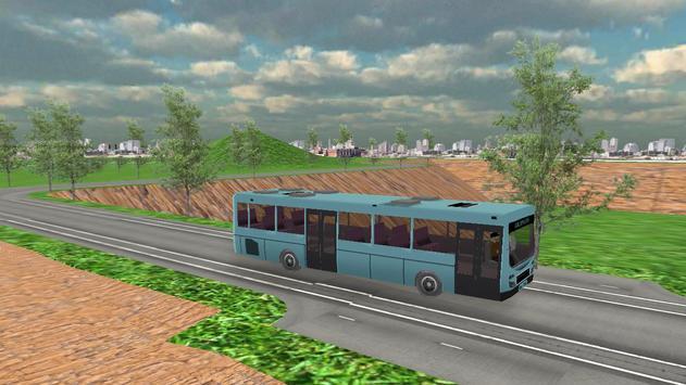 Real City Bullet Bus Simulator screenshot 1