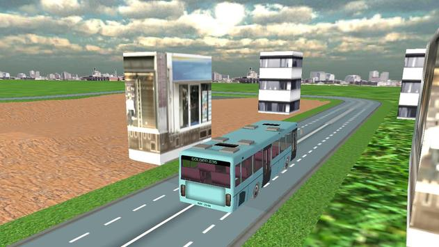 Real City Bullet Bus Simulator screenshot 2