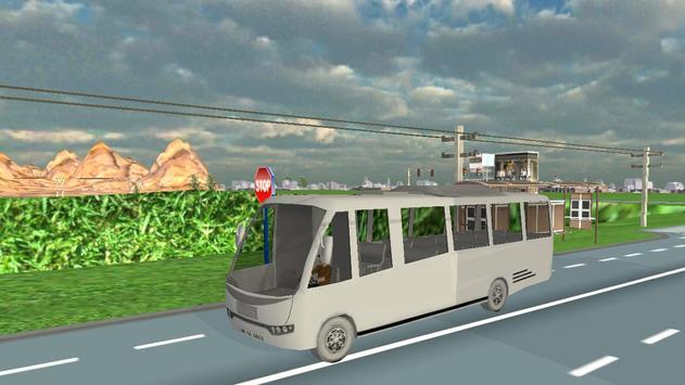 Real City Bullet Bus Simulator screenshot 9