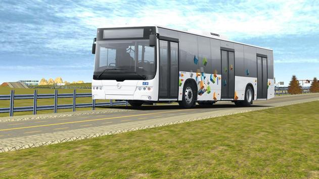 Real City Bus Simulator 2017 apk screenshot