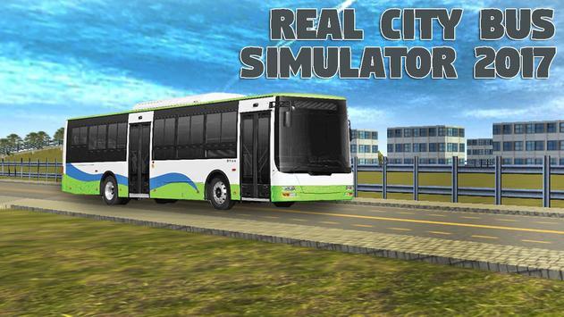 Real City Bus Simulator 2017 poster
