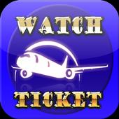 Watch Flight Ticket icon