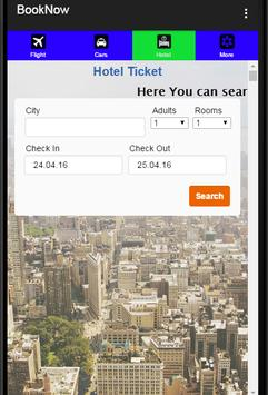 Book Flight Hotel Car apk screenshot