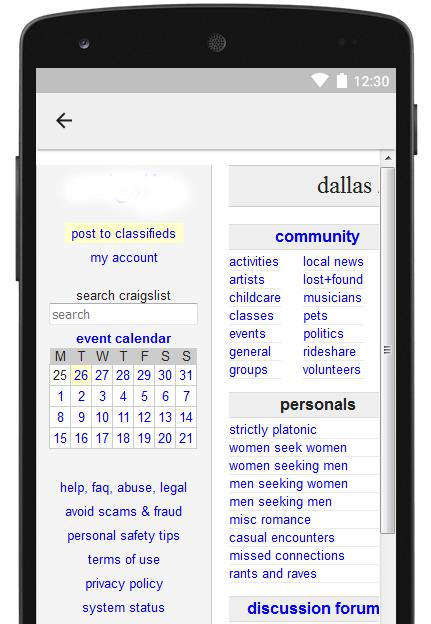 Online Free Classifieds List for Android - APK Download