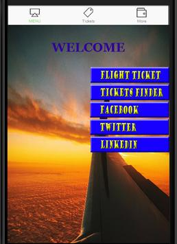 Search for Flights Ticket poster