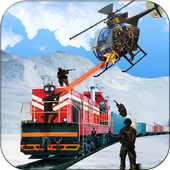 Commando Train Attack Sniper Shooter Action icon
