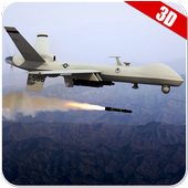 Drone Air Jet Strike War icon