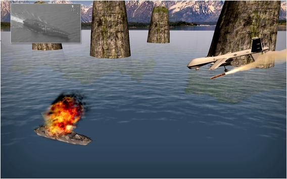 Drone Air Jet Strike War screenshot 9