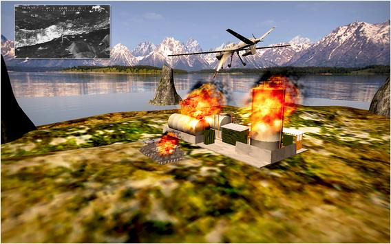 Drone Air Jet Strike War screenshot 22