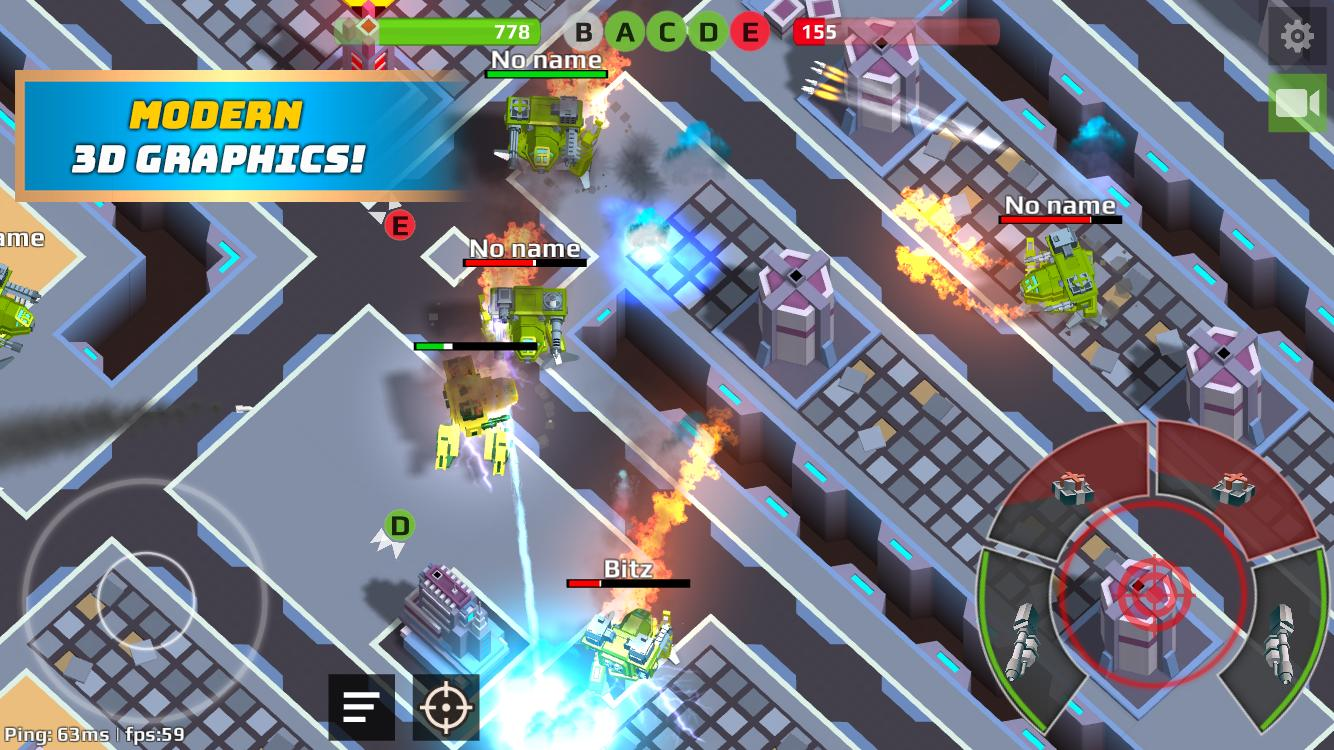 Robots io - Battle of Titans for Android - APK Download